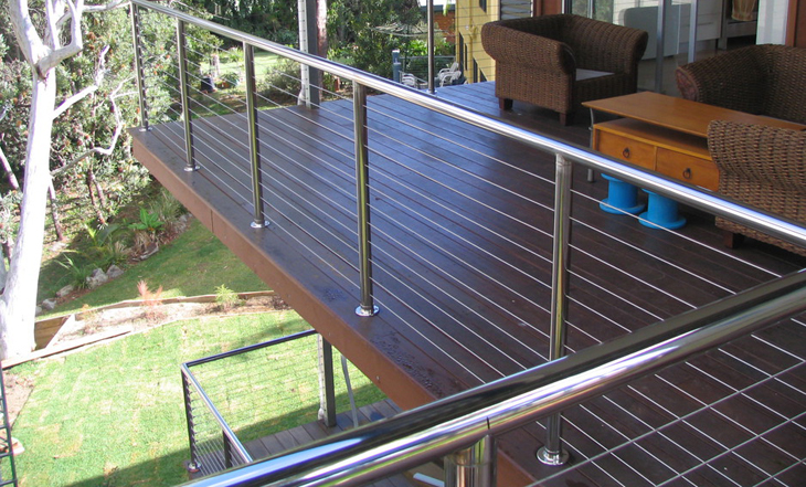 Balustrade de inox in Campulung